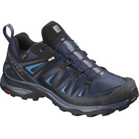 Salomon X Ultra 3 GTX Shoes Women Medieval Blue/Black/Hawaiian Surf